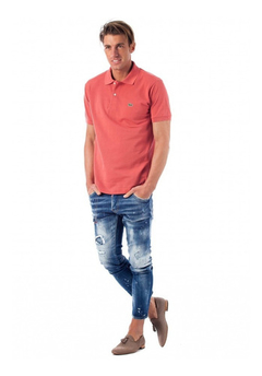 Lacoste Chomba Salmon Hombre Classic Fit L1212