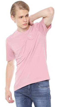 Lacoste Remera Hombre Logo Relieve Live Th0326 Rosa
