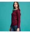Sweater Lacoste Mujer Escote Redondo Liso Af7520
