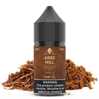 SaltNic - Verdict - Badger Hill Reserve - Brown Sugar - 30ml