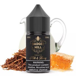 SaltNic - Badger Hill Reserve - Milk & Honey - 30ml
