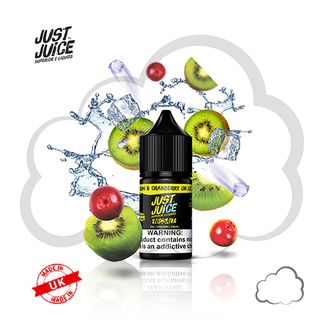 SaltNic - Just Juice - Kiwi Cranberry Ice - 30ml