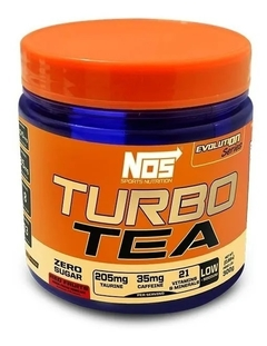 Turbo Tea Red Fruits 300g - Nos Nutrition