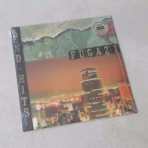 Vinil Lp Fugazi End Hits Remasterizado Lacrado