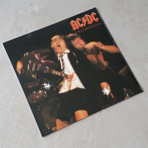 Vinil Lp AC/DC If You Want Blood Remasterizado Lacrado - comprar online