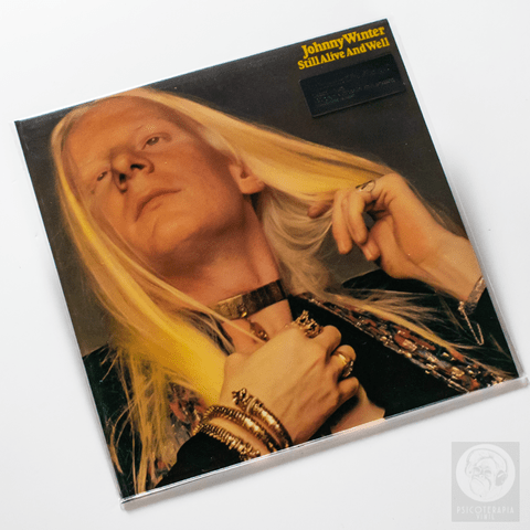 Vinil Lp Johnny Winter ‎Still Alive And Well 180g Lacrado