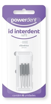 POWER ID INTERDENT CILINDRICO REFIL 1254