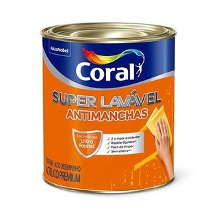 Coral Super Lavável 3,6L Antimanchas