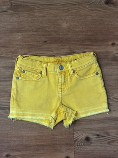 Shorts Amarelo 7 for All Mankind
