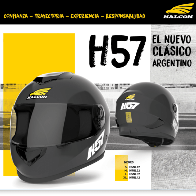 Casco Halcón H57 - Integral