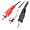 Cable Auxiliar mini plug a 2 rca 3mts