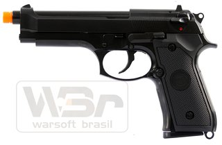 PISTOLA DE AIRSOFT WE GBB M92 AUTO