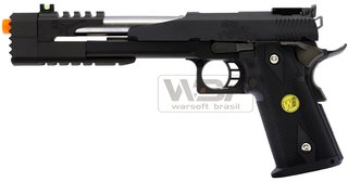 PISTOLA DE AIRSOFT WE HI-CAPA 7.0 H013B