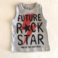 Musculosa Rock Gris 5
