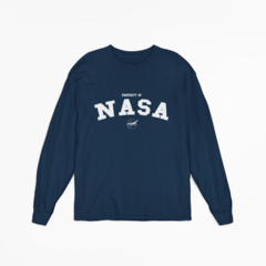 Camiseta Manga Longa - Property Of NASA