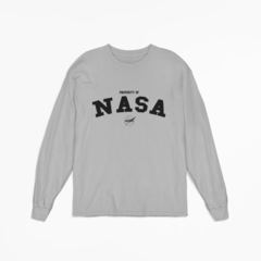 Camiseta Manga Longa - Property Of NASA na internet