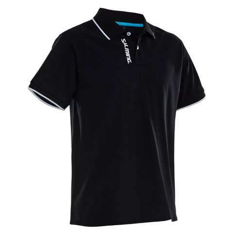 SALMING TEAM POLO BLACK MEN