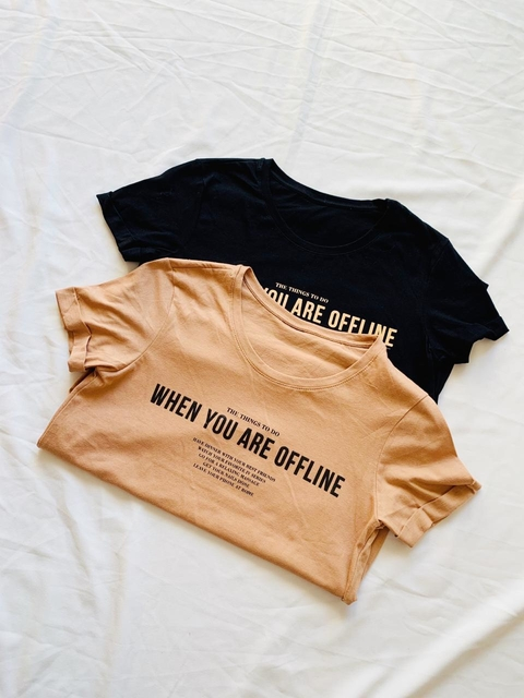 ♥ Remera When You Are ♥ en internet