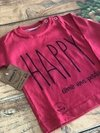 Remera HAPPY manga larga