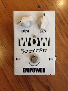 Pedal Empower WOW Booster - Usado na internet