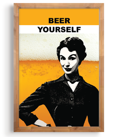 Quadro - Beer Yourself na internet