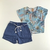 Conjunto Tropical Blusa e Shorts Up Baby