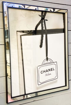 Cuadro Chanel Bag Bolsa Shop 66 X 56 CM