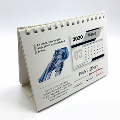 100 Calendarios Volcables 10x15 cm | $ 109 c/u