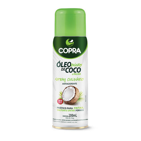 ÓLEO DE COCO E PALMA SPRAY | 200ML | COPRA
