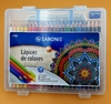 Lapices de Colores x 24 Sabonis Maletin