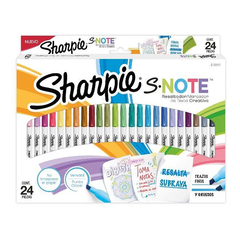 KIT SHARPIE NOTE HL PACK X 24 SURT.