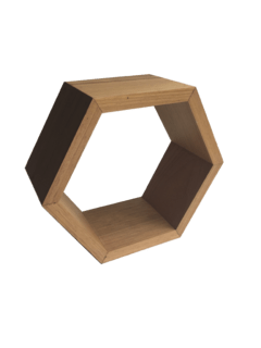 Nicho Hexagonal Pequeno - Gaia Design