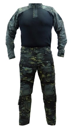 Uniforme Emerson Multicam Black