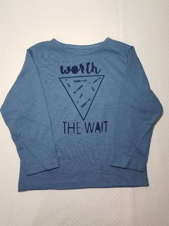 Camiseta Azul Worth