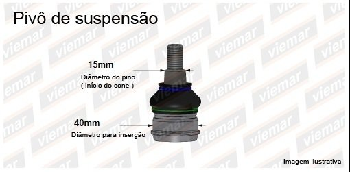 Rotula Suspension Hyundai Accent Año 95/06 - comprar online