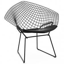 Sillon Bertoia Diamond  Negro