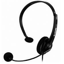 Fone Headset Cal Center Headphone Elgin Com Ajuste F02-1nsrj