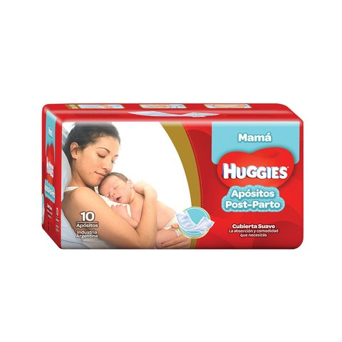 Apósitos post parto Huggies
