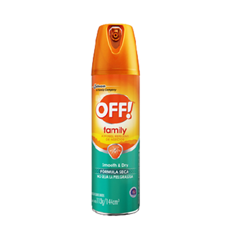 Off FamilyCare aerosol (Smooth & Dry)