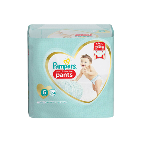 Pampers Pants Premium Care (¡NUEVO PAQUETE!)