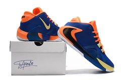 Tênis Nike Zoom Freak 1 Orange Blue na internet