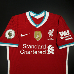 Liverpool - Home - Authentic - Com Patchs - 2020/21