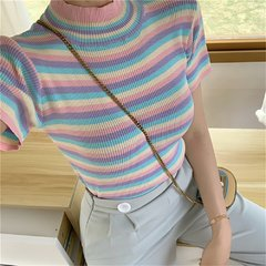 Camiseta Pastel Stripes