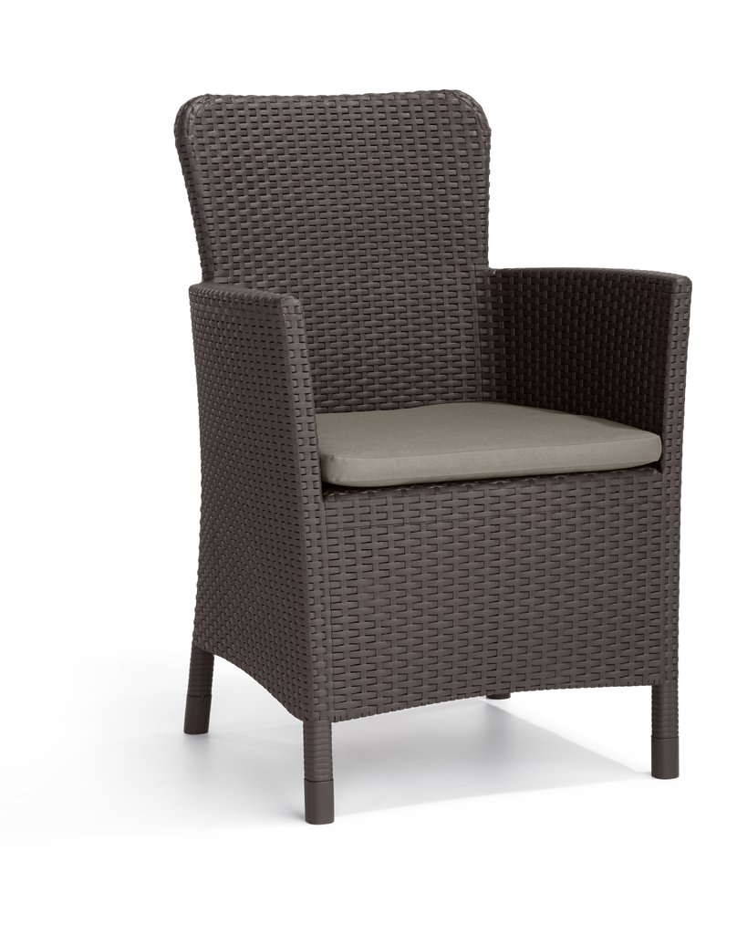 SILLA DE JARDIN MIAMI BROWN