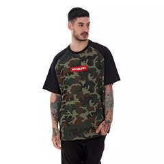 Camiseta Double-G Raglan Red Box Camuflada