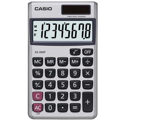 Calculadora Portatil Casio SX-300P