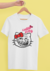 Camiseta Masculina Hello Kitty