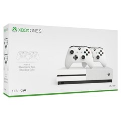 Console Xbox One S, 1TB, Wi-fi, 4K Ultra HD + 2 Controles