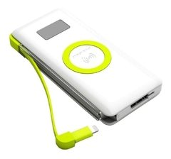 Power Bank Pineng Qi Fast Charge 10.000mah Usb 3.0 Wireless - EletroVip