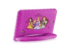 Tablet Multilaser Disney Princesas Plus 16GB Tela 7 Pol. Quad Core Dual Câmera Rosa- NB308 - comprar online
